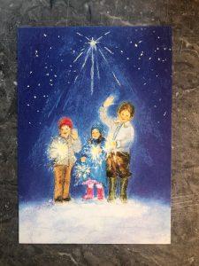 Barn i vinternatt