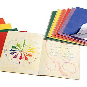 Skolmaterial: Anteckning- & målarböcker