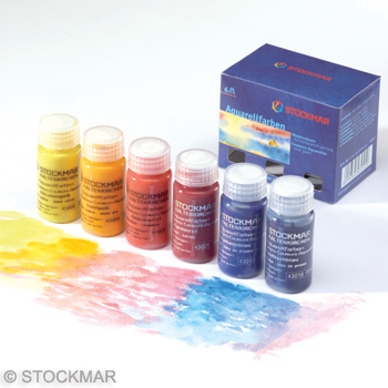 Akvarellfärg i flytande form